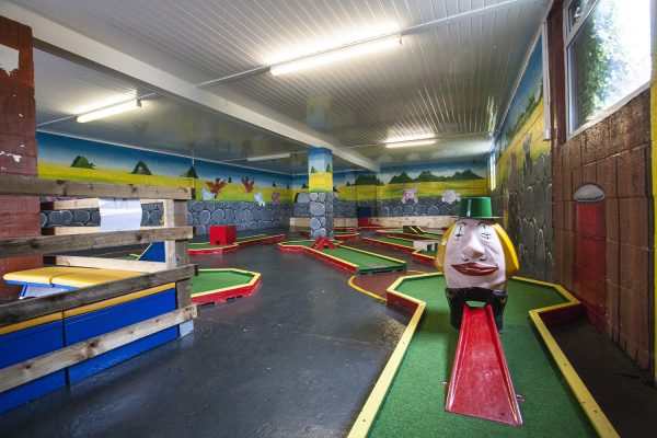Crazy Golf at Tweddle Farm
